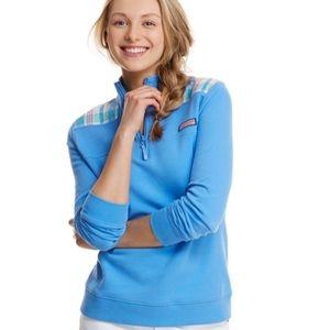 Vineyard Vines blue madras plaid Shep Shirt Medium